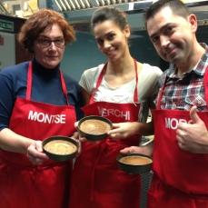 Montse, merchi y Moro